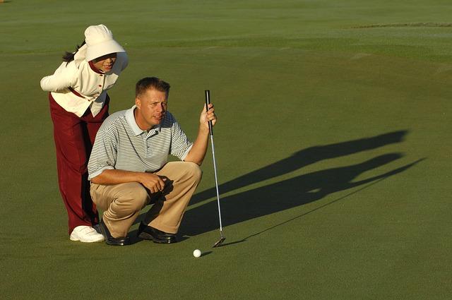 učení golfu