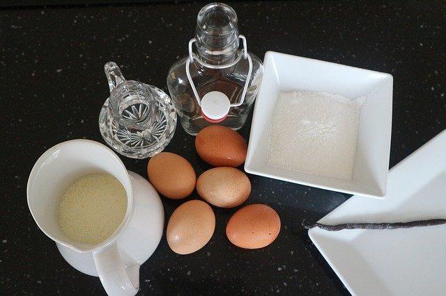 potřeby na vaječný likér