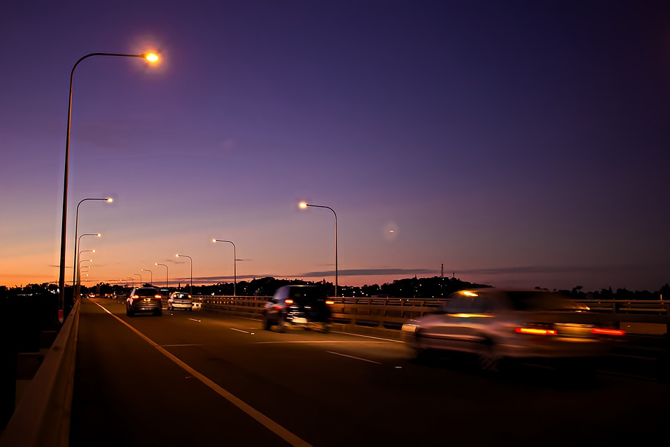 večerní provoz