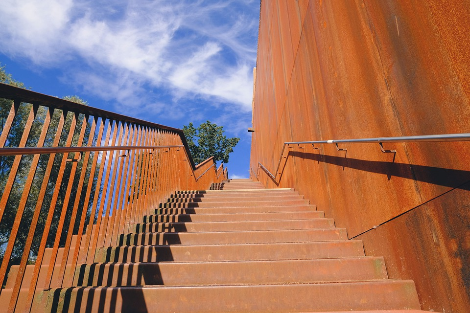 venkovní schodište
